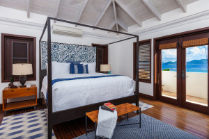 Anguilla Villa Alegria 2nd Floor Bedroom