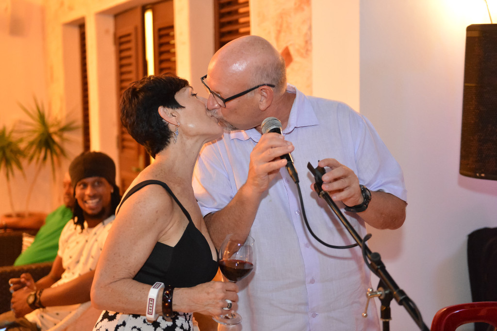 Neil and Wendy Freeman Owners Villa Alegria Anguilla